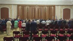 Ceremonia organizată cu ocazia Zilei Constituției