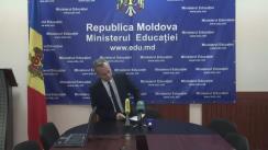 Briefing organizat de Ministerul Educației privind rezultatele examenului de bacalaureat, după desfășurarea sesiunii suplimentare