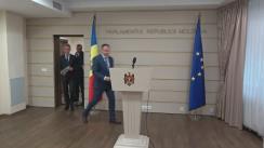 Declarațiile lui Andrian Candu și Iurie Leancă în timpul ședinței Parlamentului Republicii Moldova din 29 iulie 2016