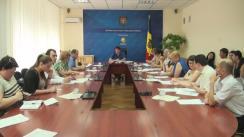 Ședința Grupului de lucru pentru reglementarea activității de întreprinzător din 3 august 2016