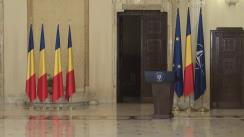 Ceremonia de decorare a unor foști deținuți politic de către președintele României, Klaus Iohannis