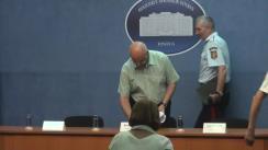 Conferință de presă cu privire la prevederile Hotărârii de Guvern privind managementul tipurilor de risc, aprobată în ședința Guvernului din 3 august