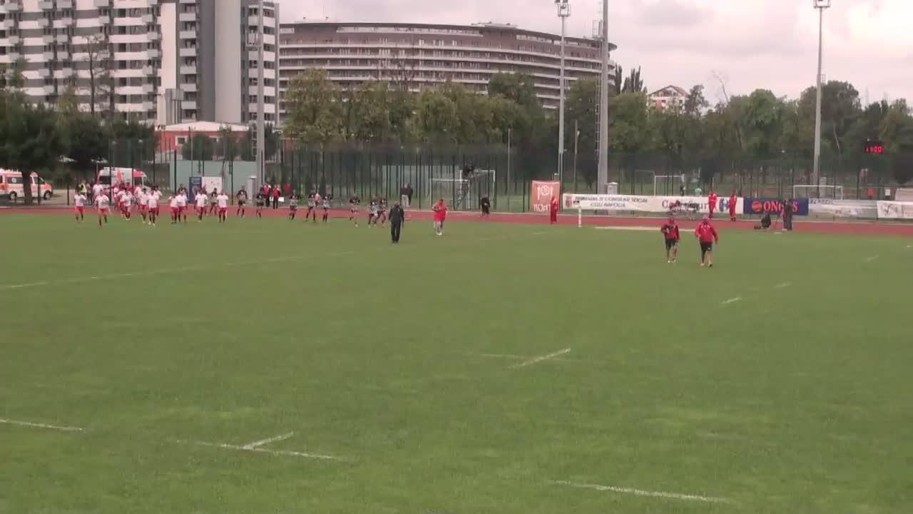 Meciul de Rugby între CS Universitatea Cluj - CS Dinamo București. SuperLiga CEC BANK 2016