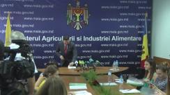 Conferința de presă organizată de Ministerul Agriculturii și Industriei Alimentare de prezentare a rezultatelor recoltării culturilor cerealiere și leguminoase de grupa I