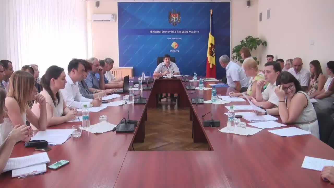 Ședința Grupului de lucru pentru reglementarea activității de întreprinzător din 10 august 2016
