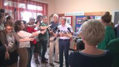Declarații de presă susținute de Dacian Cioloș în urma întâlnirii cu reprezentanții asociațiilor producătorilor agricoli din sectorul zootehnic