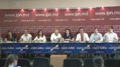 """Conferință de presă cu tema """"Importanța revigorării procesului de integrare europeană și consolidarea mișcării proeuropene!"""""""