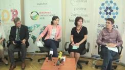 """Clubul de presă """"Valorificarea potențialului diasporei în Moldova"""""""