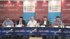 """Dezbateri publice cu tema """"Importanța economico-politică a Acordului Republicii Moldova cu FMI și capacitatea politică de a-l implementa"""""""