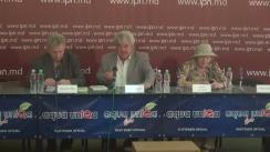 """Conferință de presă cu tema """"Cum Moscova ajută Alianța să se mențină la putere. Tragerea la răspundere penală a funcționarilor vinovați de discriminarea în masă a alegătorilor moldoveni"""""""