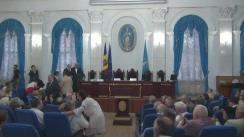 """Prelegerea publică """"Limba română, politică și statul de drept"""", susținută de președintele Republicii Moldova, Nicolae Timofti"""