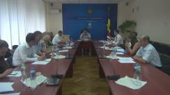 Ședința Grupului de lucru pentru reglementarea activității de întreprinzător din 24 august 2016