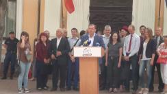 Eveniment public organizat de liderul Platformei Demnitate și Adevăr, Andrei Năstase