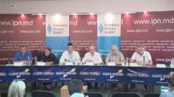 """Dezbateri publice cu tema """"Unioniști, stataliști și """"nostalgici"""": confruntare de idei privind dreptul și capacitatea Republicii Moldova de a fi stat independent"""""""