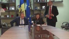 Semnarea unui acord bilateral de colaborare dintre Ministerul Justiției al Republicii Moldova și Ministerul Justiției al României
