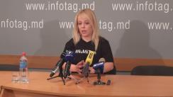 """Conferință de presă susținută de avocata Ana Ursachi cu tema """"Campania """"Nu mă tem"""": întrebări și răspunsuri"""""""
