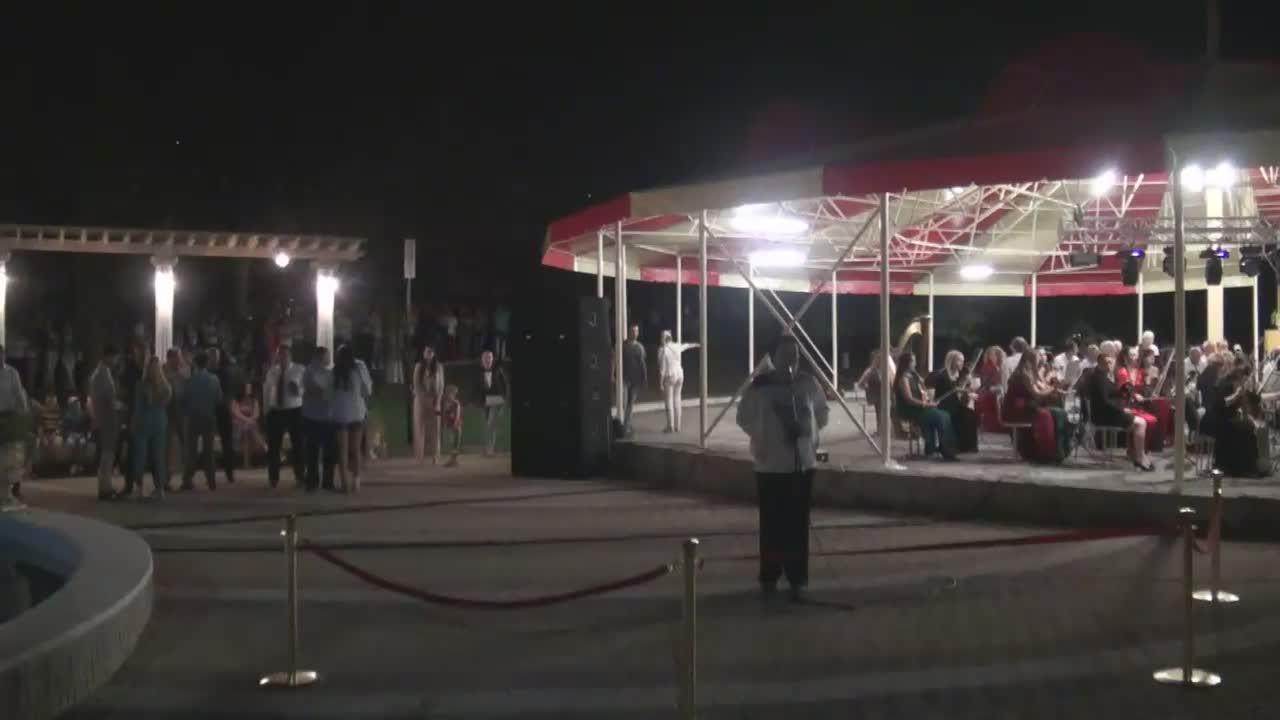 Inaugurarea Parcului Ivanos din orașul Orhei