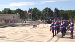 Ceremonia națională dedicată marcării a 100 de ani de la intrarea României în Primul Război Mondial