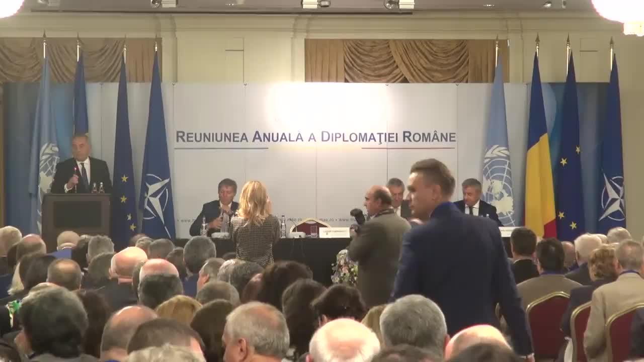 Deschiderea oficială a Reuniunii Anuale a Diplomației Române (RADR 2016)