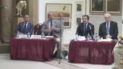 """Masa rotundă cu tema """"Intrarea României în Primul Război Mondial și consecințele asupra conflagrației"""""""