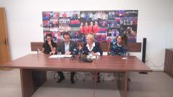 Conferință de presă la Federația Română de Scrimă