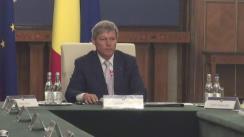 Ședința Guvernului României din 29 august 2016 (imagini protocolare)