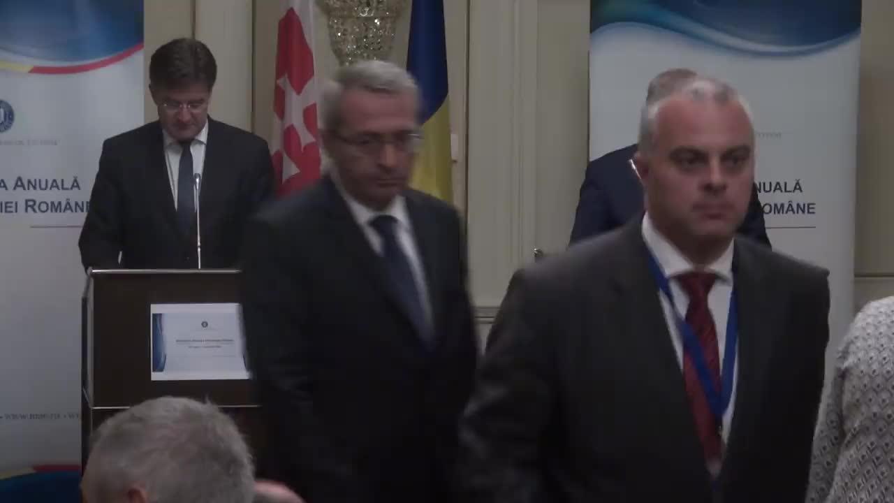 Conferință de presă susținută de ministrul Afacerilor Externe, Lazăr Comănescu, și ministrul afacerilor externe și europene al Slovaciei, Miroslav Lajčák