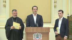 Conferință de presă organizată de Patriarhia Română privind prezentarea programului și a tematicii Întâlnirii Tinerilor Ortodocși din toată lumea