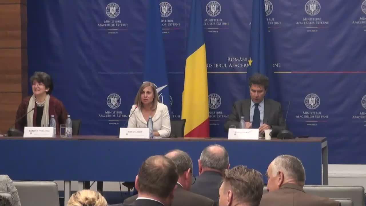 """Sesiunea """"Comunitățile istorice românești și diaspora de mobilitate"""", din cadrul Reuniunii Anuale a Diplomației Române"""