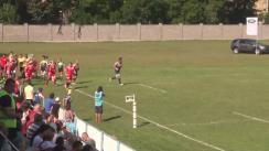 Meciul de Rugby între Timișoara Saracens - CS Dinamo București. SuperLiga CEC BANK 2016