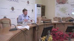 Ședința săptămânală a serviciilor primăriei Chișinău din 5 septembrie 2016