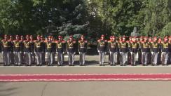 Ceremonia de decorare cu distincții de stat, distincții ale Armatei Naționale și diplome ale Guvernului Republicii Moldova cu ocazia Zilei Armatei Naționale