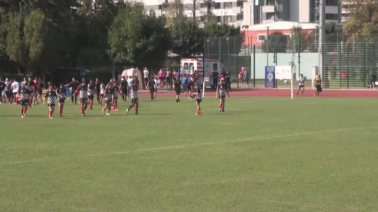 Meciul de Rugby între CS Universitatea Cluj - CSM Olimpia București. SuperLiga CEC BANK 2016