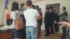Conferință de presă organizată de Ministerul Sănătății privind colaborarea moldo-niponă în domeniul ocrotirii sănătății