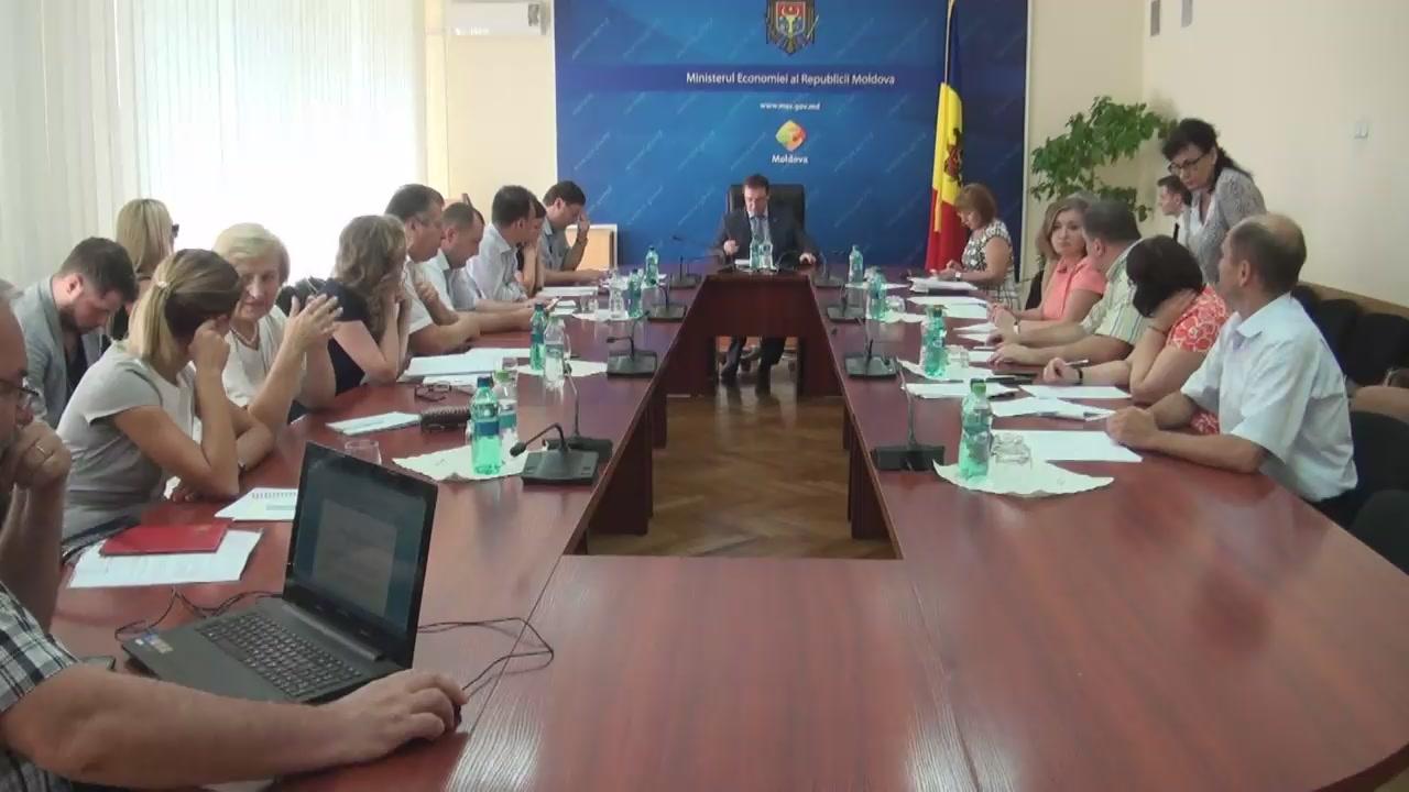 Ședința Grupului de lucru pentru reglementarea activității de întreprinzător din 7 septembrie 2016