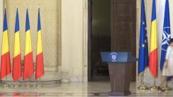 Ceremonia de depunere a jurământului de învestitură a domnului Ioan-Dragoș Tudorache în funcția de Ministru al Afacerilor Interne, și a domnului Paul Gheorghiu în funcția de șef al Cancelariei Primului-Ministru