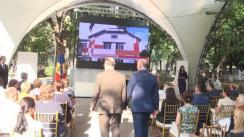 """Evenimentul de raportare a Programului de asistență tehnică și financiară pentru instituțiile preșcolare din Republica Moldova """"Investim în educație – investim în viitor. Reabilitarea infrastructurii preșcolare din Republica Moldova cu sprijinul Guvernului României"""""""