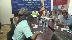 Lansarea unui apel comun între Agenția Universitară a Francofoniei și Ministerul Educației al Republicii Moldova la proiecte pentru susținerea cercetării în Republica Moldova