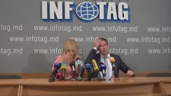 """Conferință de presă susținută de avocații Ana Ursachi și Ilia Novikov cu tema """"Ultimele detalii în cazul omului de afaceri Veaceslav Platon"""""""