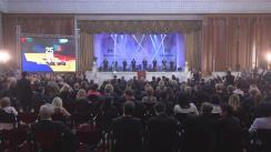 Ceremonie oficială organizată de Parlament dedicată celei de-a 25-a aniversări a Independenței Republicii Moldova
