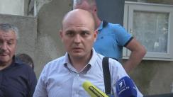 Declarații de presă după audierea lui Veaceslav Platon