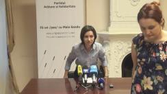 """Conferință de presă organizată de Partidul Acțiune și Solidaritate cu tema """"Situația sistemului de pensionare din Republica Moldova și solicitarea unor măsuri serioase din partea guvernării"""""""