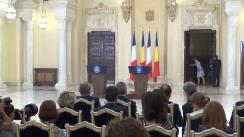 Declarație de presă comună a Președintelui Republicii Franceze, François Hollande, și a Președintelui României, Klaus Iohannis