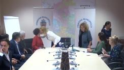 Conferință de presă organizată de Primarul General, Gabriela Firea, pe tema susținerii proiectelor culturale ale Capitalei