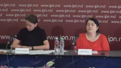 """Conferință de presă organizată de Centrul de Analiză și Prevenire a Corupției cu tema """"Expertiza din perspectiva drepturilor omului a proiectului Legii cu privire la depozitarul central al valorilor imobiliale"""""""