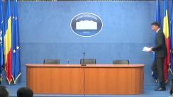 Conferință de presă susținută de ministrul Afacerilor Interne, Ioan-Dragoș Tudorache, privind prioritățile asumate la preluarea mandatului