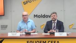 """Conferință de presă cu tema """"Sputnik va susține interesele diasporelor naționale ale Moldovei"""""""