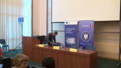 Conferința de presă în cadrul căreia va fi făcut public numele orașului recomandat pentru titlul de Capitală Europeană a Culturii 2021 în România