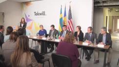 Semnarea Acordului între Agenția Statelor Unite pentru Dezvoltare Internațională (USAID) și Ambasada Suediei în Moldova privind susținerea dezvoltării Centrului de Excelență în domeniul TIC