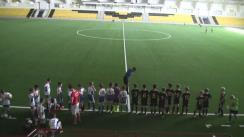 Meciul de fotbal: Sheriff 2005 vs. FC Sportul 2005. Campionatul Moldovei Copii și Juniori U-12